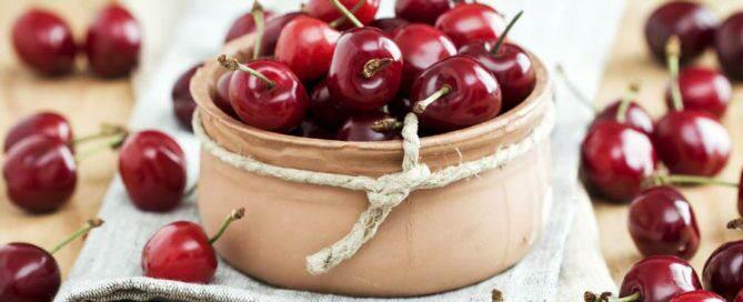 Wiśnie - źródło wielu witamin i minerałów